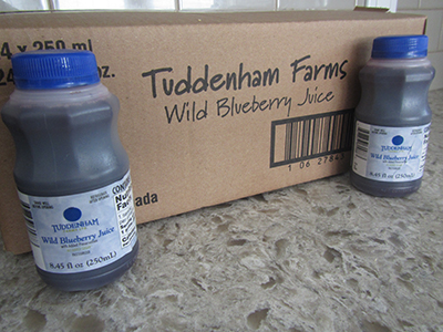wild blueberry product juice
